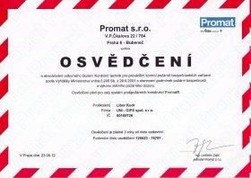 Obrázek : Naše certifikáty