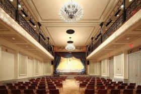 Fotka : Bohemian National Hall (Česká národní budova), New York - akustické podhledy STO